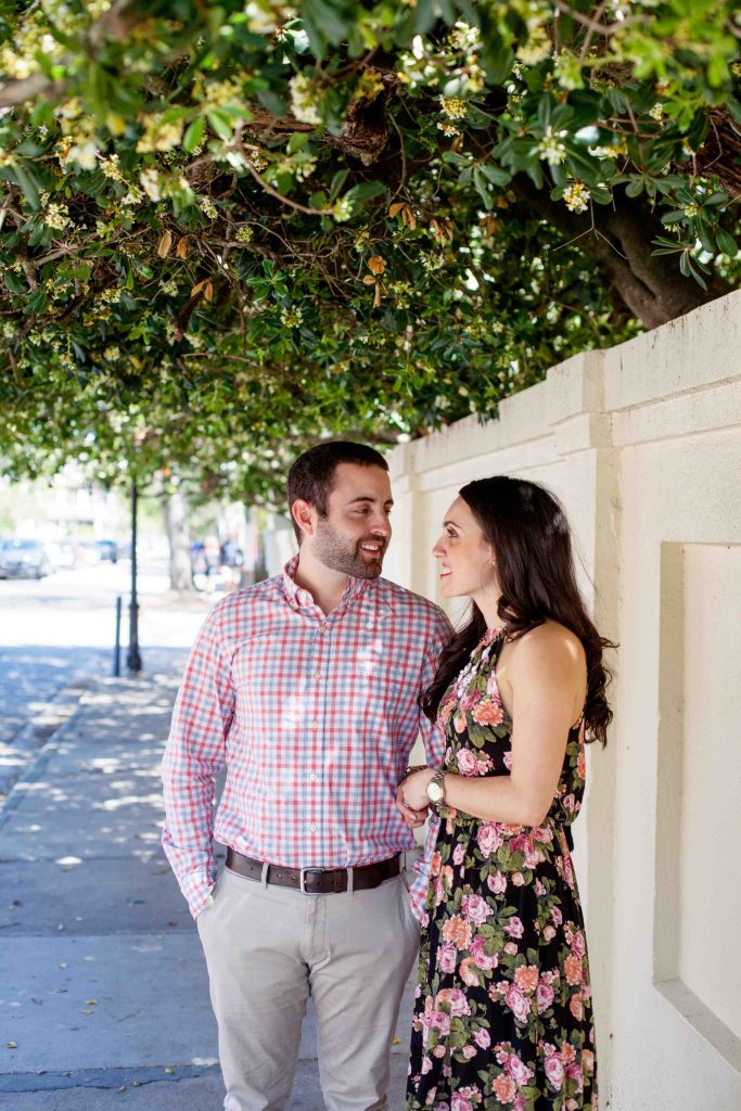 charleston engagement photos
